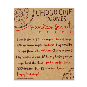 CHRISTMAS COOKIES POSTCARD