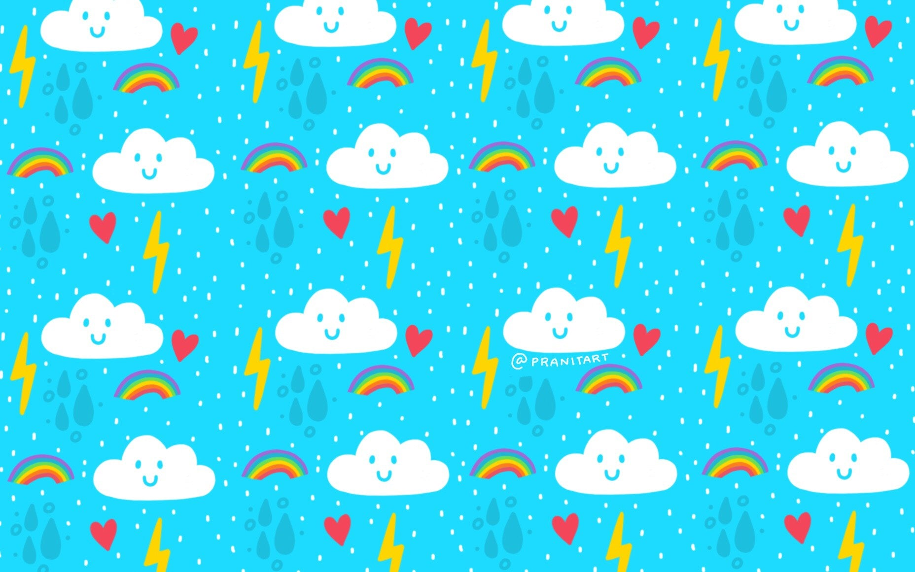 MONSOON LOVE WALLPAPER