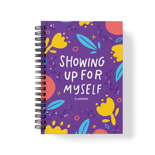 UNDATED PLANNER - SHOWING UP