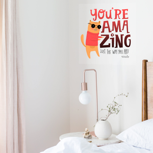 YOU'RE AMAZING WALL DECAL