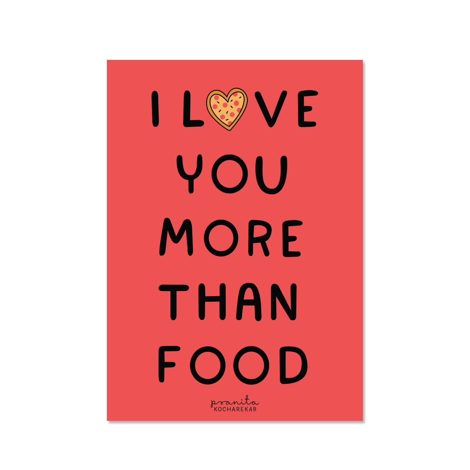 YOU > FOOD POSTCARD