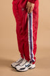 Vercetti & Co. Women c/o Erron Vercetti – Comfort Over Appearance – Red Track Pants – Luxury Brand