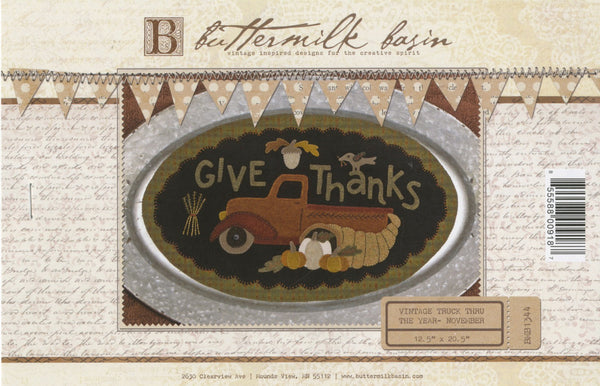 Give Thanks Vintage Truck