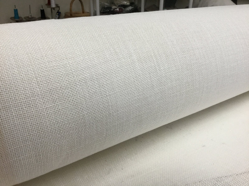 15 yards of White linen