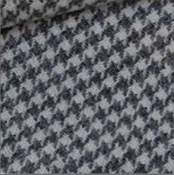 Dorr gray houndstooth