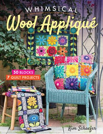 Whimsical Wool Appliqué