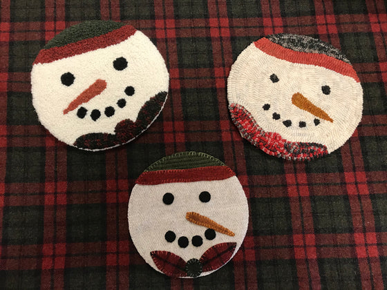 A Snowman Three Ways