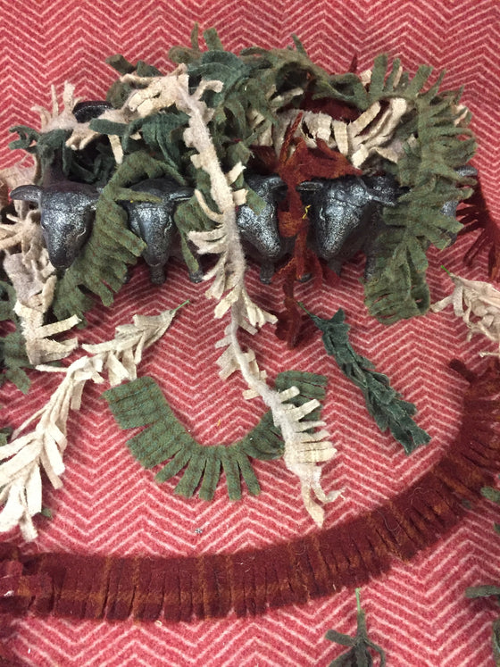 Pre cut strips for trees and wreaths and more!