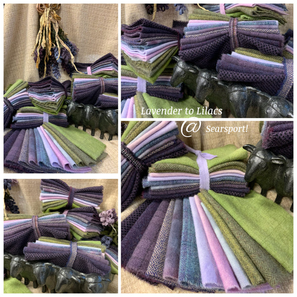 Lavender to Lilacs Wool Bundles