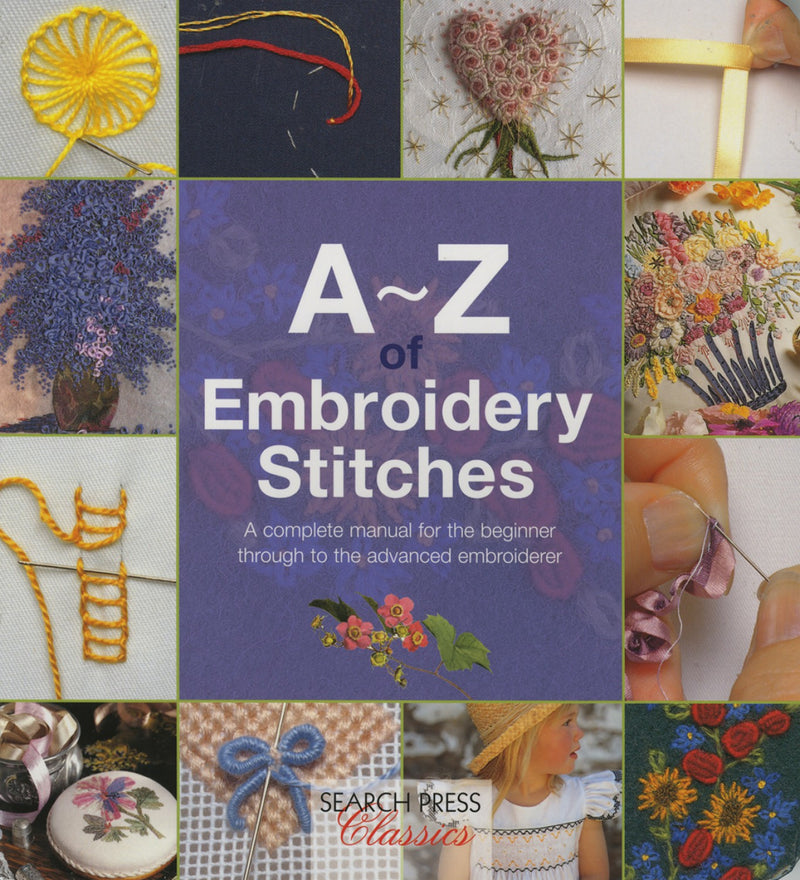 A-Z Embroidery Stitches book 1