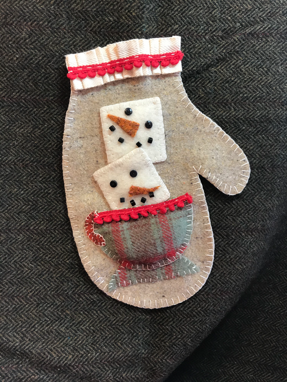 Hot Cocoa Mitten kit