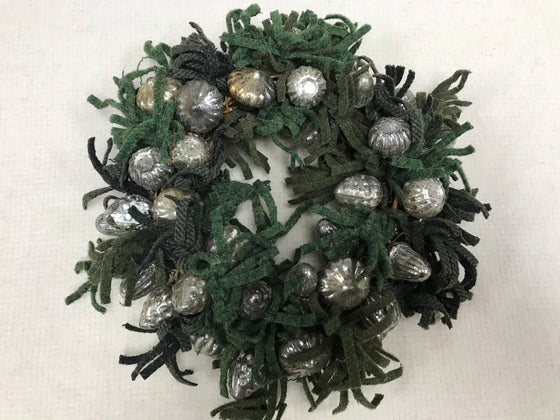 Holiday Mercury ball wreath kit