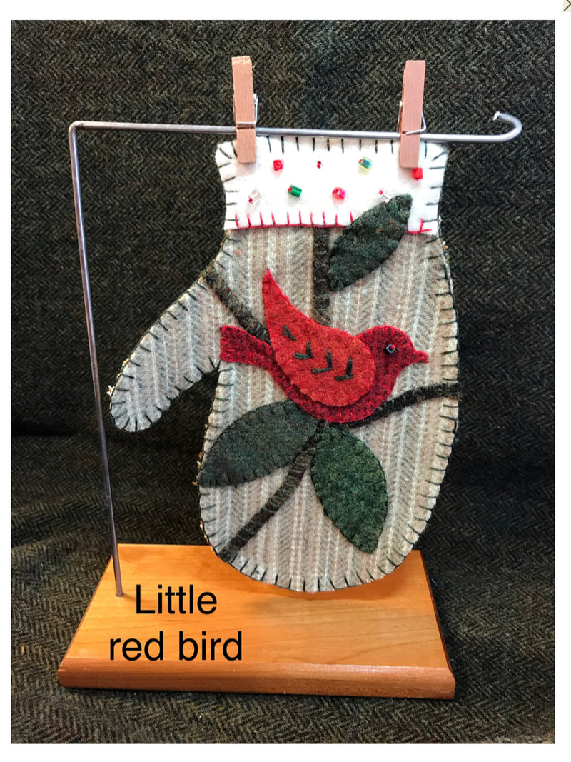 Red Bird Mitten kit
