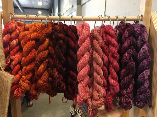Hand Dyed Merino Yarn Bulky Weight