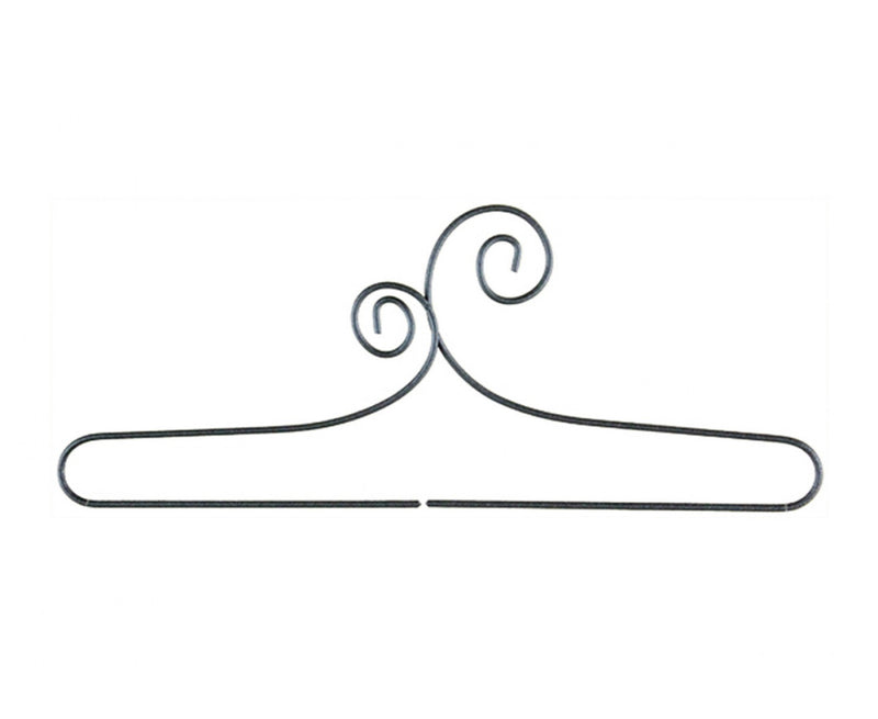 6in Double Scroll wire hanger