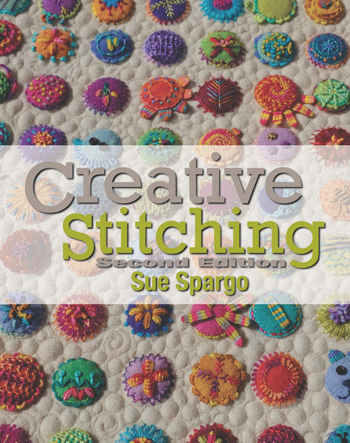 Sue Spargo Creative stiching
