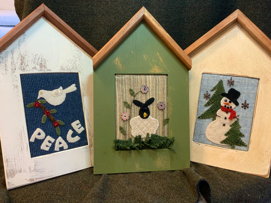 Cottage Pop Out Frames