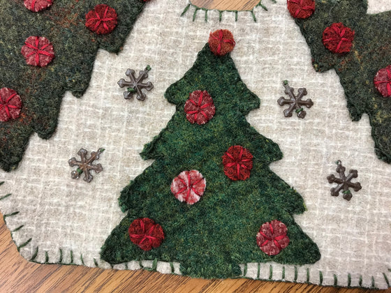 Christmas Trees Tree Skirt week #5 special