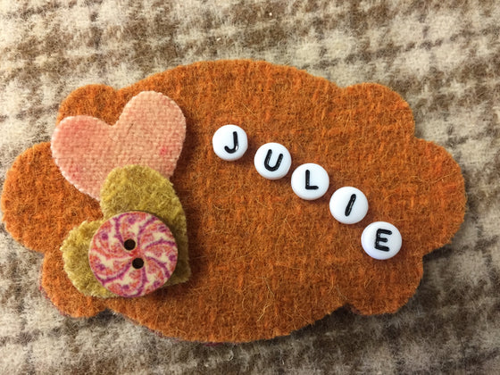 Zippie Name Tag