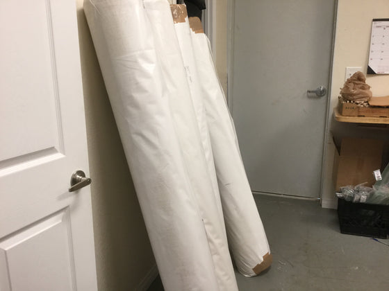 55 Yard Warehouse bolt White linen