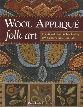 Wool Applidue Folk art
