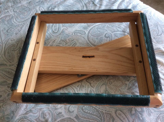 Large punch needle spinner frame