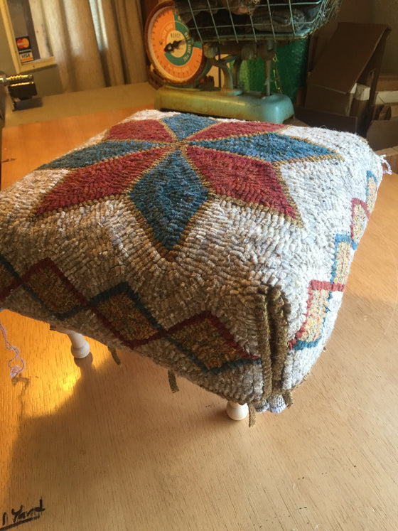Pattern with CUT Wool Kits for stools