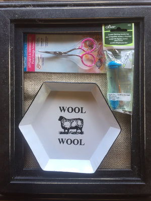 Wool Snippet Tray gift set