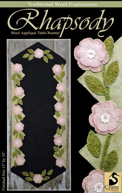 Assorted Floral  appliqué patterns