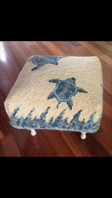 Bonnet Topper stool patterns