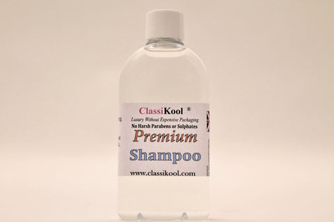 Classikool Premium Shampoo: Luxury Vegan Hair Care with Fragrance Choices