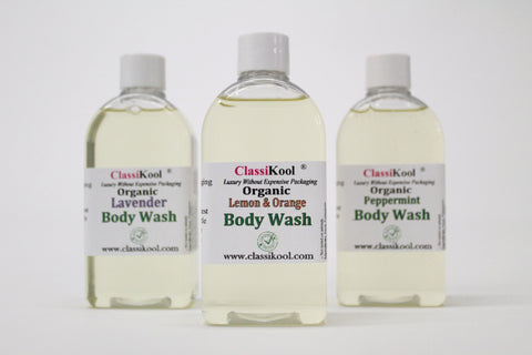 Classikool Organic Moisturising Shower Body Wash Base: 13 Essential Oil Choices