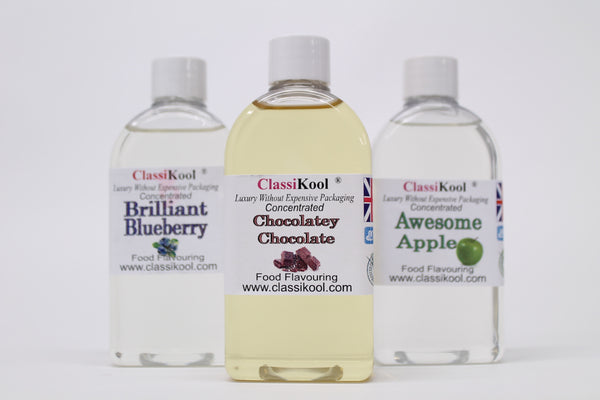 Classikool 100ml Maximum Strength Concentrated Food Flavouring: 90 Flavours