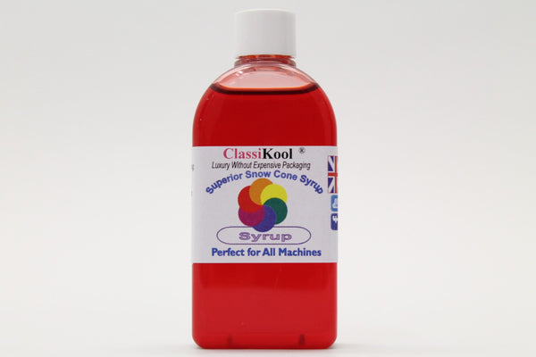 Classikool 100ml Concentrated Snow Cone Syrup: 16 Fruity Flavour Choices