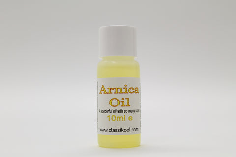 Classikool Natural Arnica Carrier Oil for Massage and Aromatherapy
