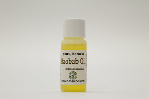Classikool Natural [Baobab Seed] Carrier Oil: Hair, Body, Aromatherapy & Massage