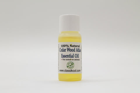 Classikool Natural Cedarwood Atlas Essential Oil for Aromatherapy & Relaxation