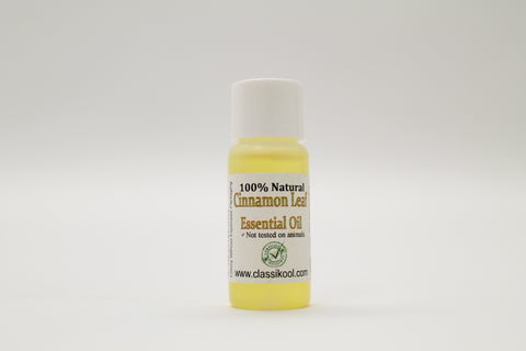 Classikool Natural Cinnamon Leaf Essential Oil for Aromatherapy & Relaxation