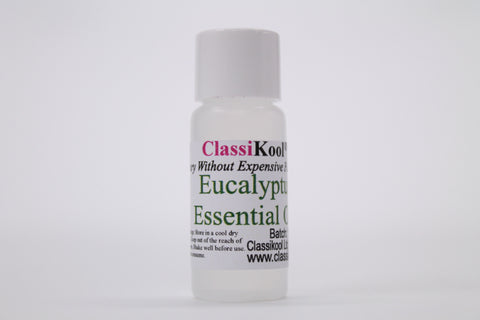 Classikool Eucalyptus Oil 100% Pure Essential Aromatherapy Massage Add to Carrier Oil