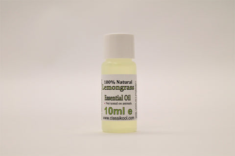 Classikool Lemongrass Essential Oil for Aromatherapy, Skin Care & Home Fragrance