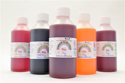 Classikool 12 x 250ml Slush Syrup Set: Machine Ready Fun Flavours & Colours