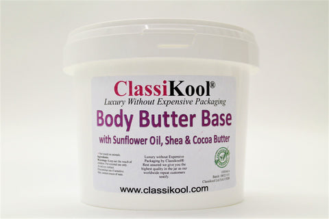 Classikool Body Butter: Rich Vegan Skin Care with Fragrance Choices