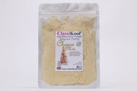 Classikool Choux Pastry Easy Mix: Just Add Water for Profiteroles, Eclairs and Buns