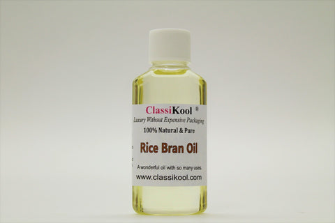 Classikool Rice Bran Oil for Beauty & Anti Ageing Skin Care