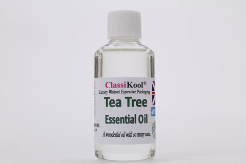 Classikool Tea Tree Oil 100% Pure Essential Aromatherapy Massage Add to Carrier