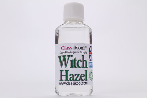 Classikool Witch Hazel for Acne & Blemish Treatment and Skin Care - Choice of 6 Bottle Sizes