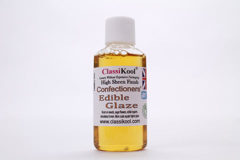 Classikool Confectioners Edible Glaze Varnish for Baking and Sugarcraft