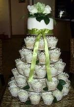 Classikool 6 Tier Circle 5mm Thick Cupcake Wedding Party Cup Cake Fairy Display Stand
