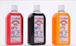 Classikool 3 x 250ml Professional Slush Puppy Syrup: Raspberry, Strawberry & Lime