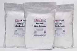 Classikool Bicarbonate of Soda: Food Grade Sodium Bicarb for Baking, Cleaning & Bath Bombs Powder